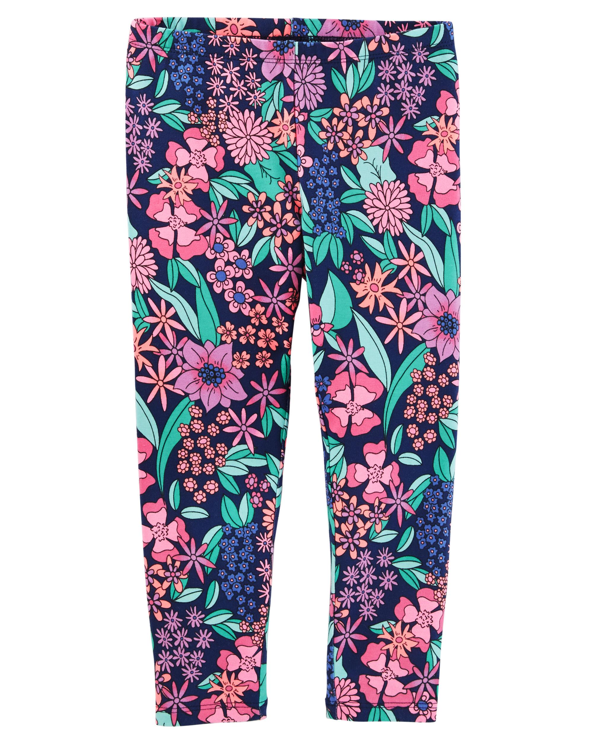 Mix Kit Floral Print Leggings