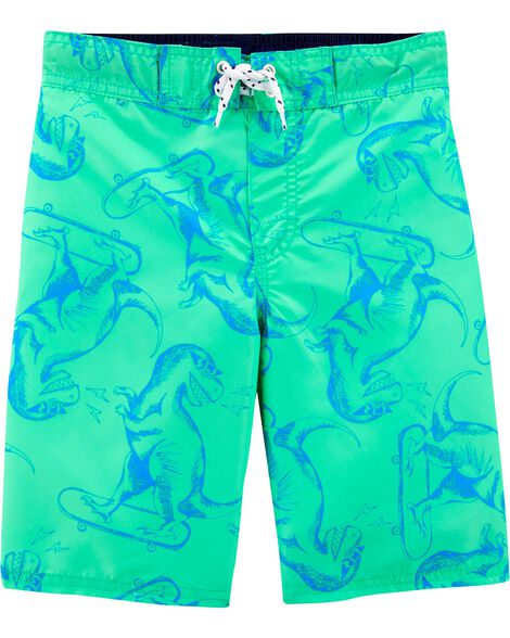 OshKosh Dinosaur Swim Trunks