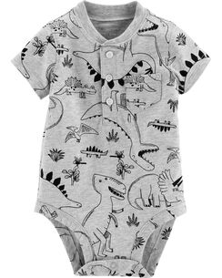 b101b60ac Dinosaur Henley Collectible Bodysuit