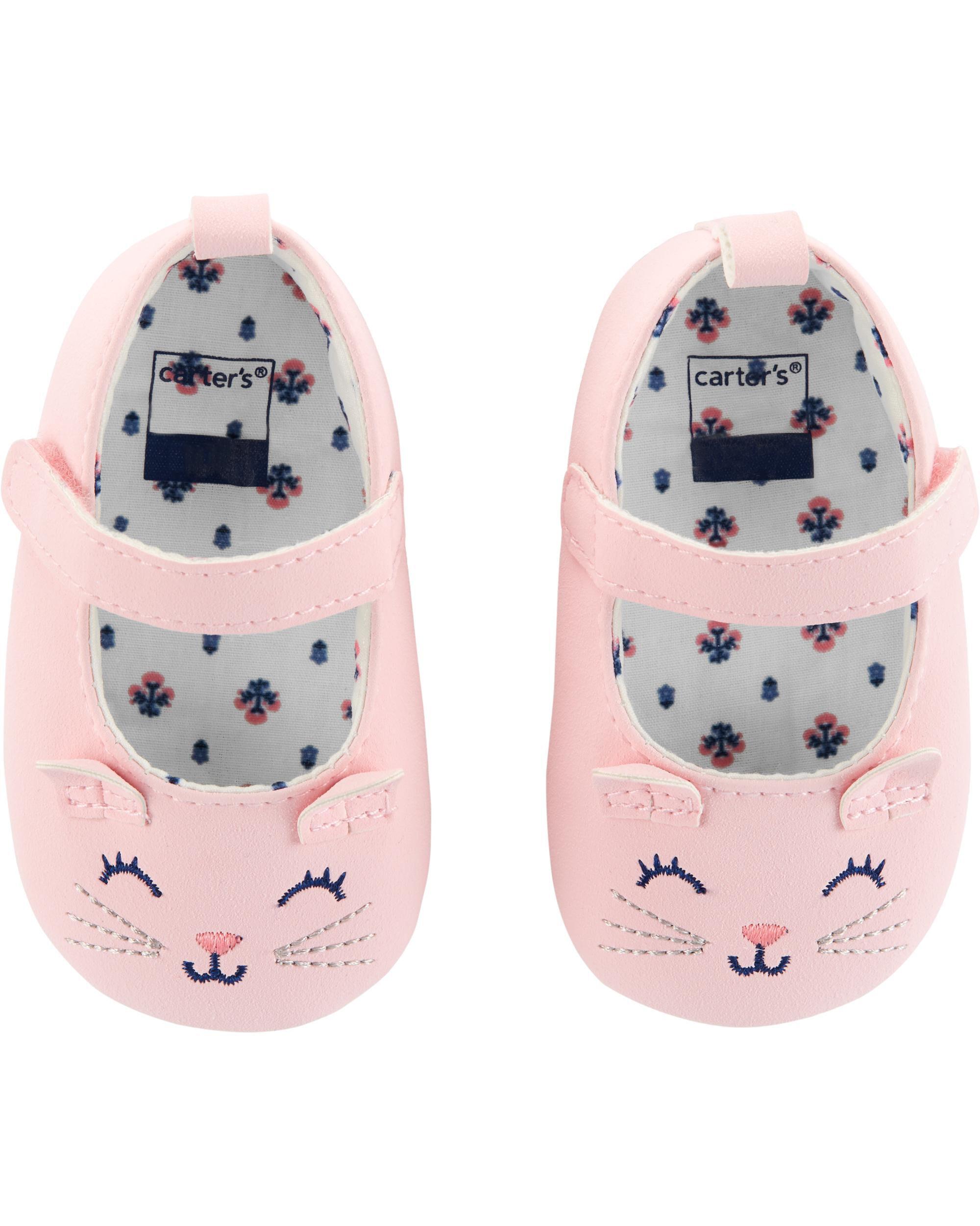 Cat Mary Jane Baby Shoes | oshkosh