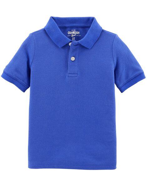 2beb6448 Pique Uniform Polo | OshKosh.com