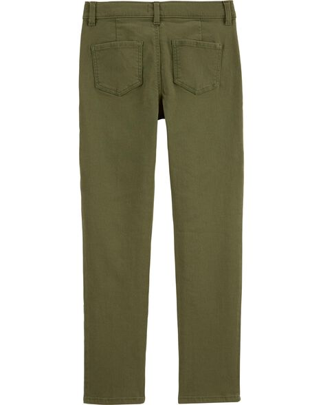 Stretchy Twill Pants