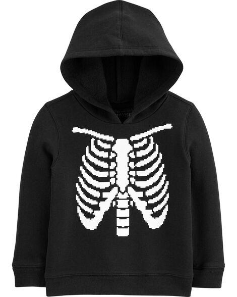 95d1ede63 Glow-in-the-Dark Skeleton Hoodie | OshKosh.com