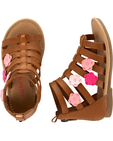 98f29652d4f8 Baby Girl Carter s Gladiator Sandals