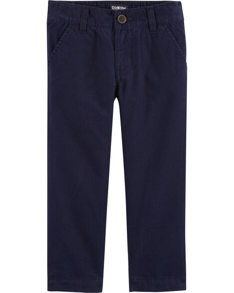 Jersey-Lined Chinos
