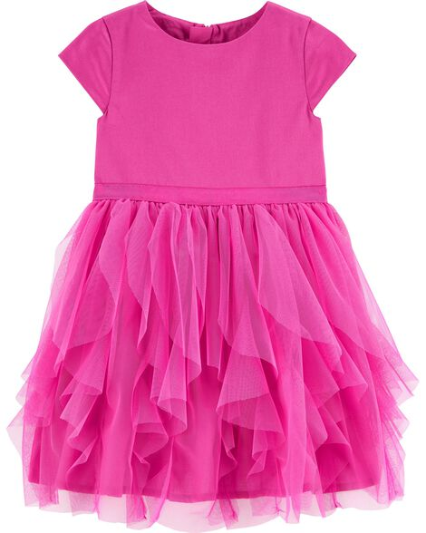 fb2aed6c7 Tulle Tea Party Dress | OshKosh.com