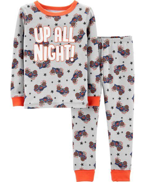 19d50e714c Images. Snug Fit Monster Truck Cotton PJs