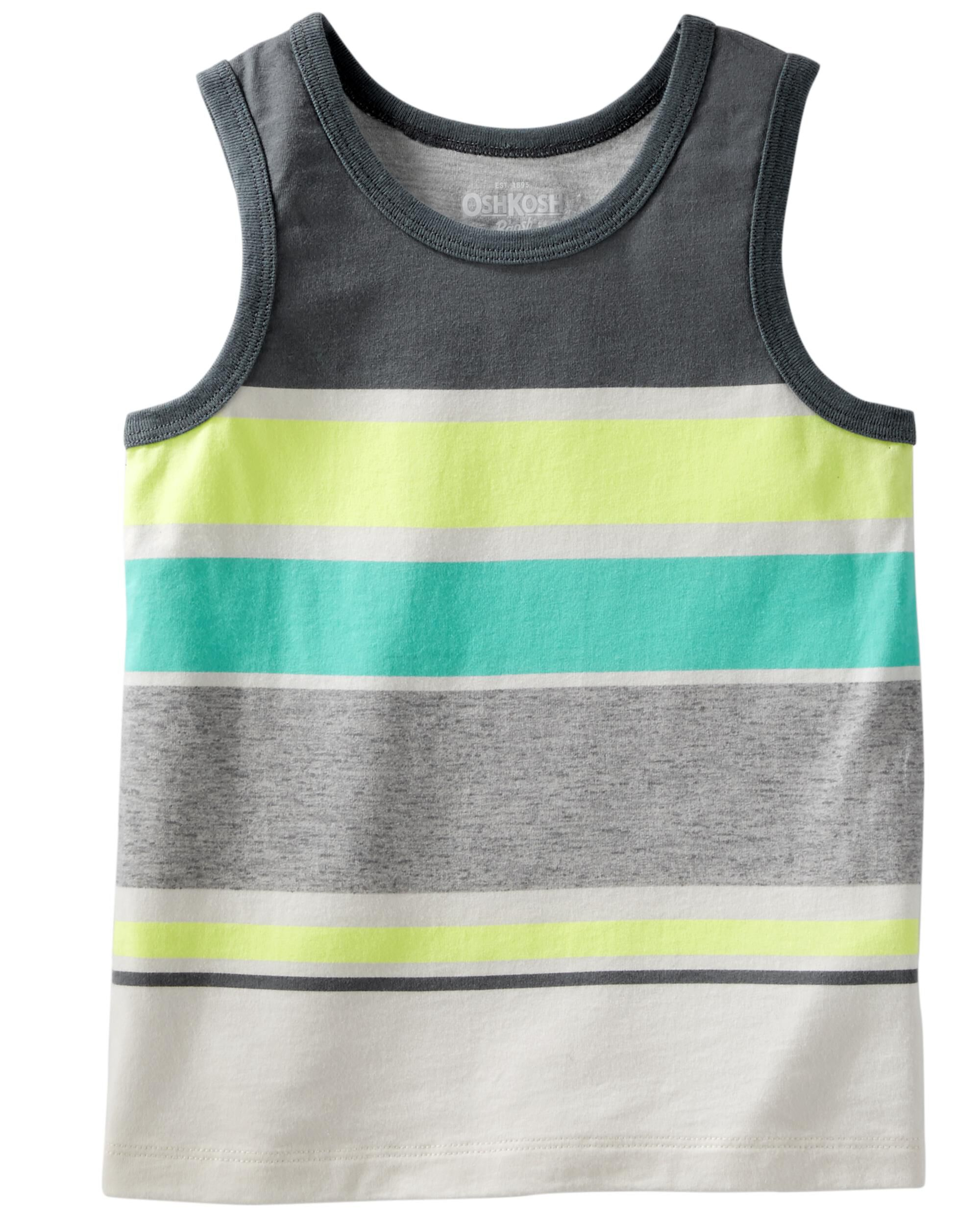 OshKosh BGosh Baby Boys//Toddler Mix Kit Striped Tank
