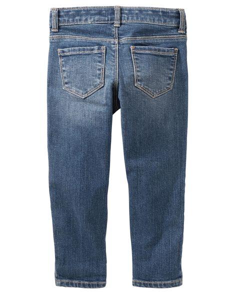Girlfriend Fit Jeans - Branson Blue