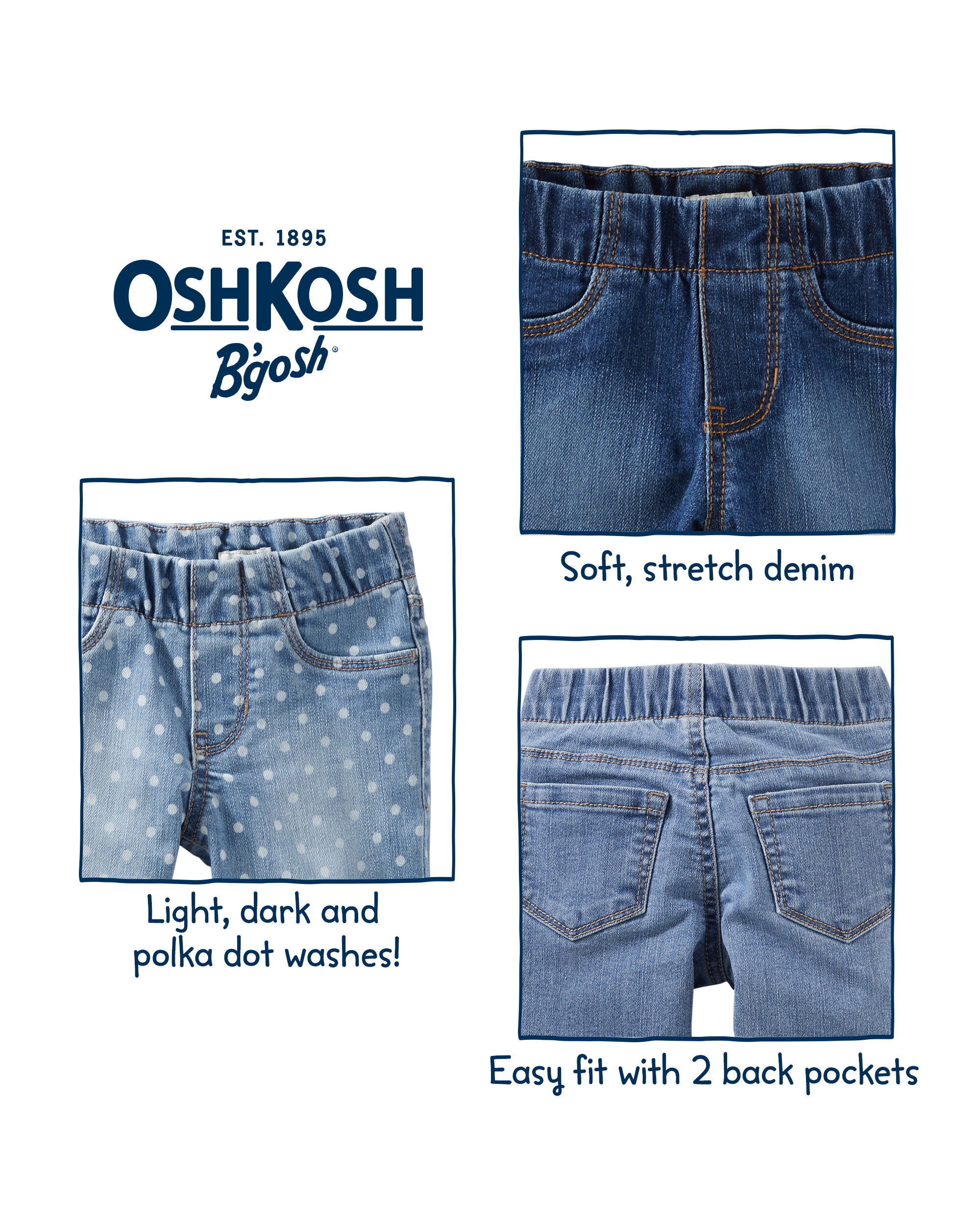 18 Month Oshkosk Skort Spare No Cost At Any Cost Baby & Toddler Clothing