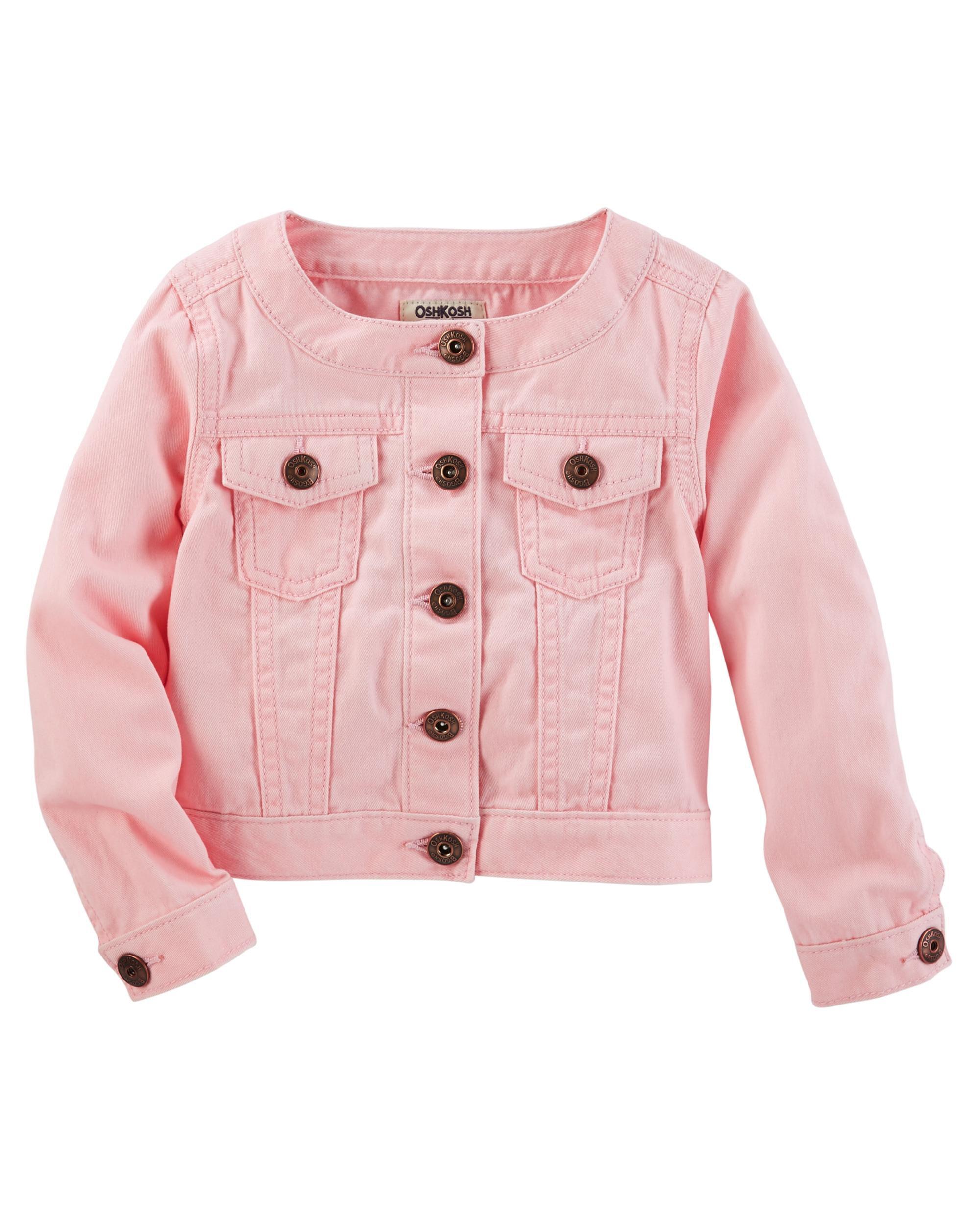 Baby Girl Jackets, Coats & Peacoats | OshKosh | Free Shipping