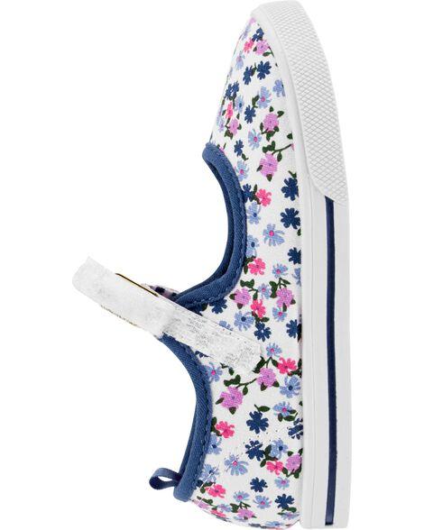 OshKosh Floral Print Mary Jane Shoes