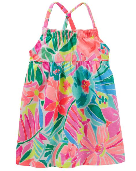 Tropical Floral Dress by Oshkosh