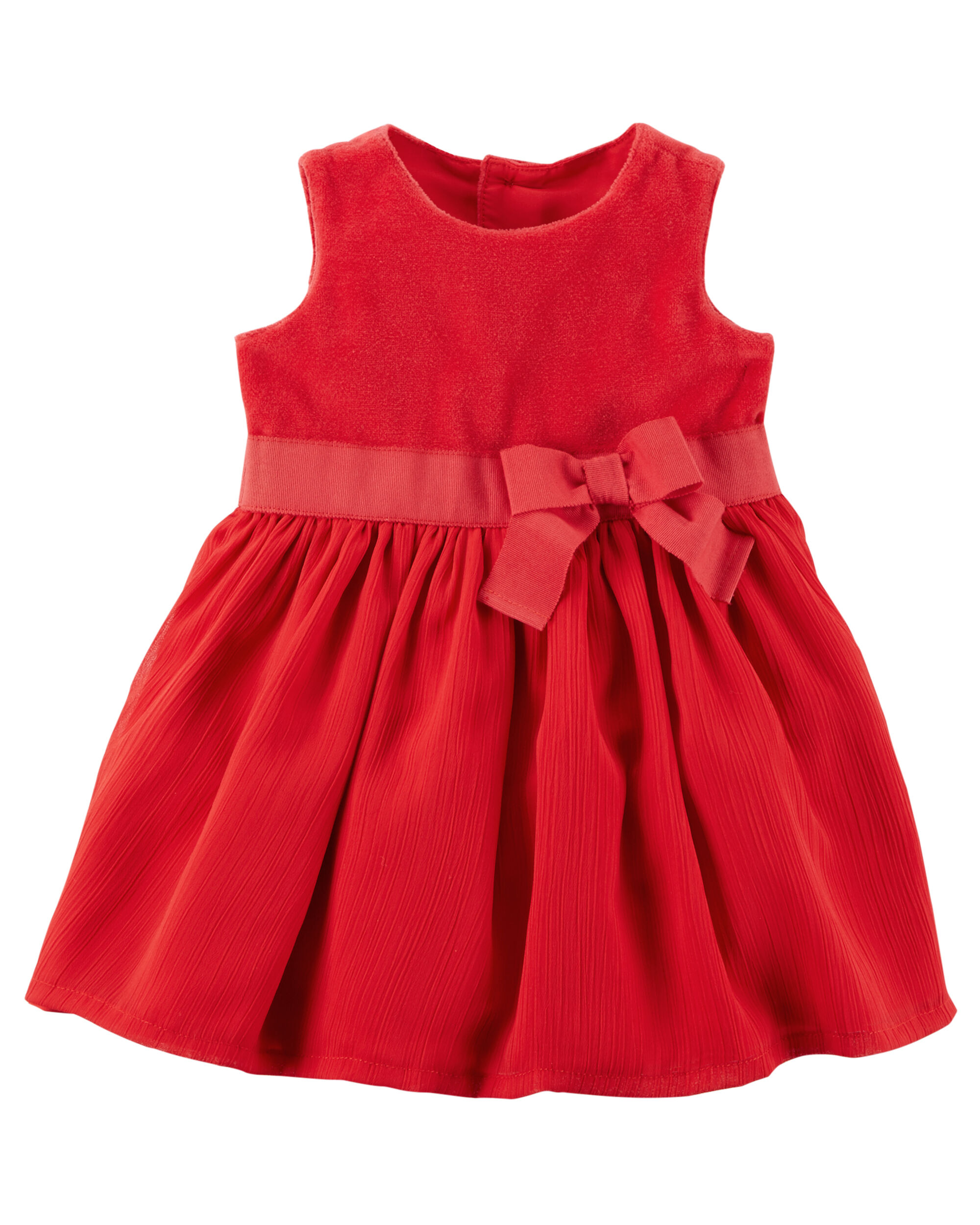 Baby Girl Holiday Bow Dress
