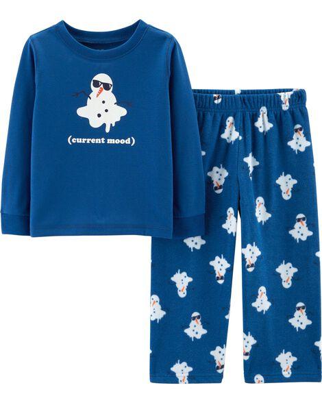 b388316fc 2-Piece Snowman PJs