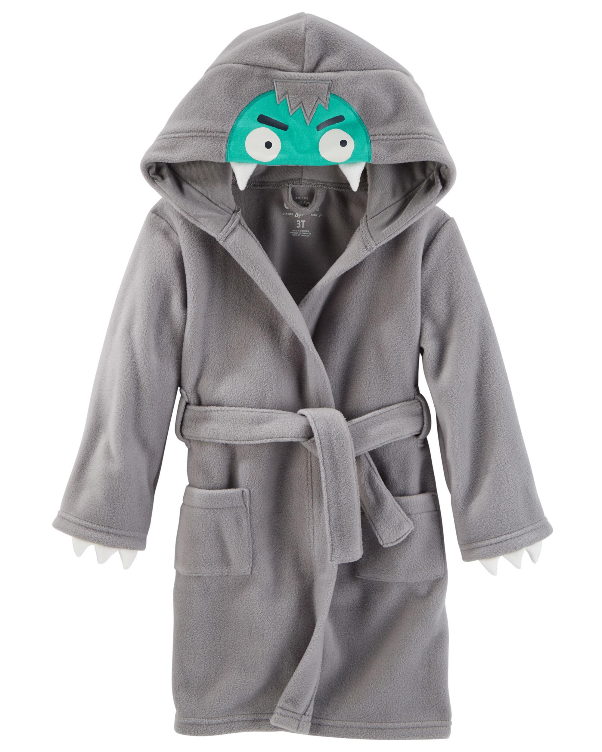 Polar Fleece Monster Robe Oshkosh Com