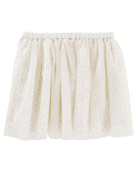 Sparkle Dot Tulle Skirt