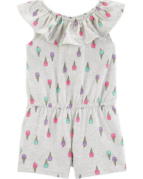 ea97df35cf470 Ice Cream Romper | OshKosh.com