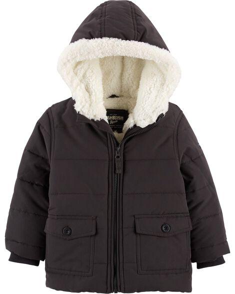 1154566ba Soft Sherpa Jacket | OshKosh.com