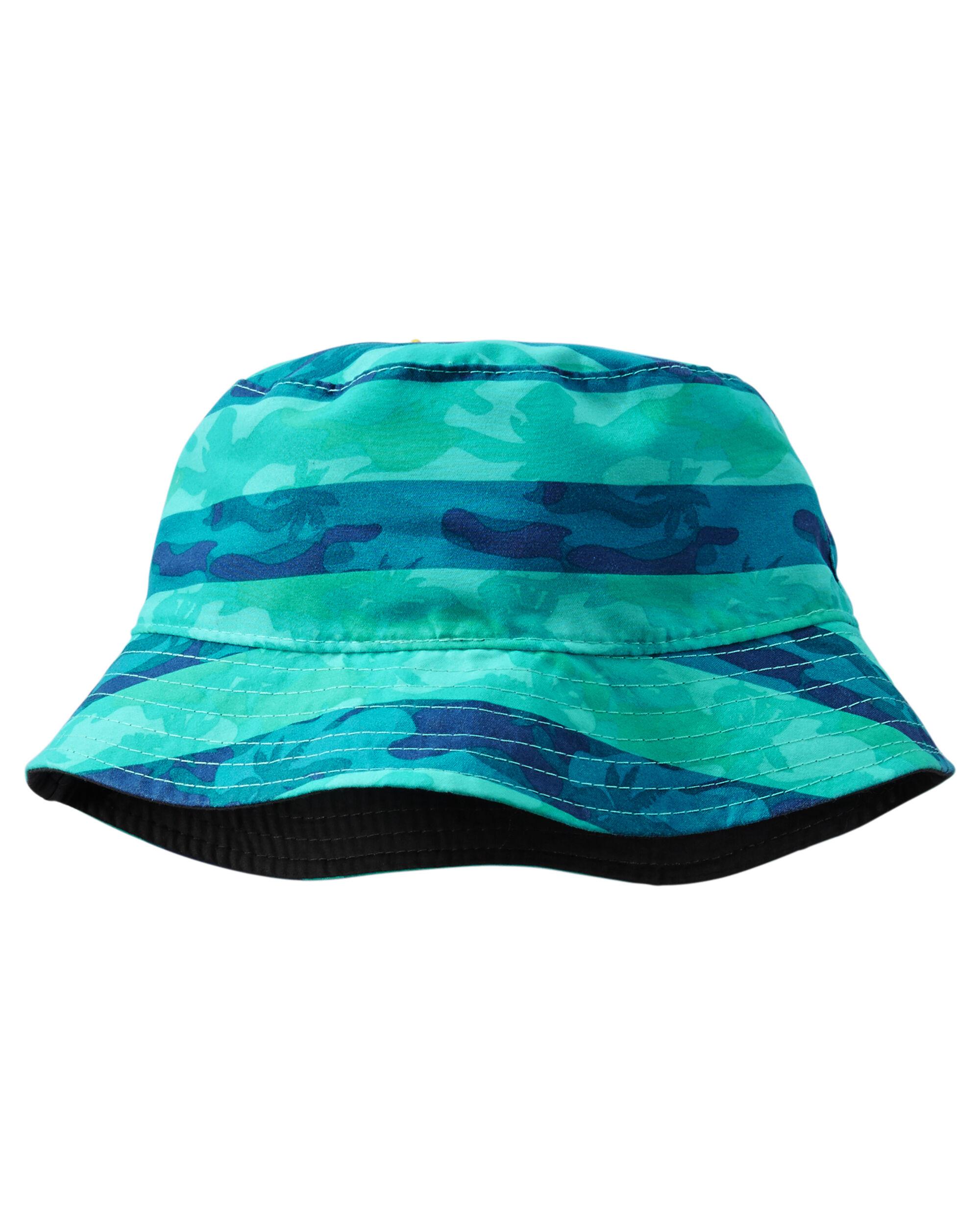 812a8fd3 Reversible Striped Camo Bucket Hat | OshKosh.com