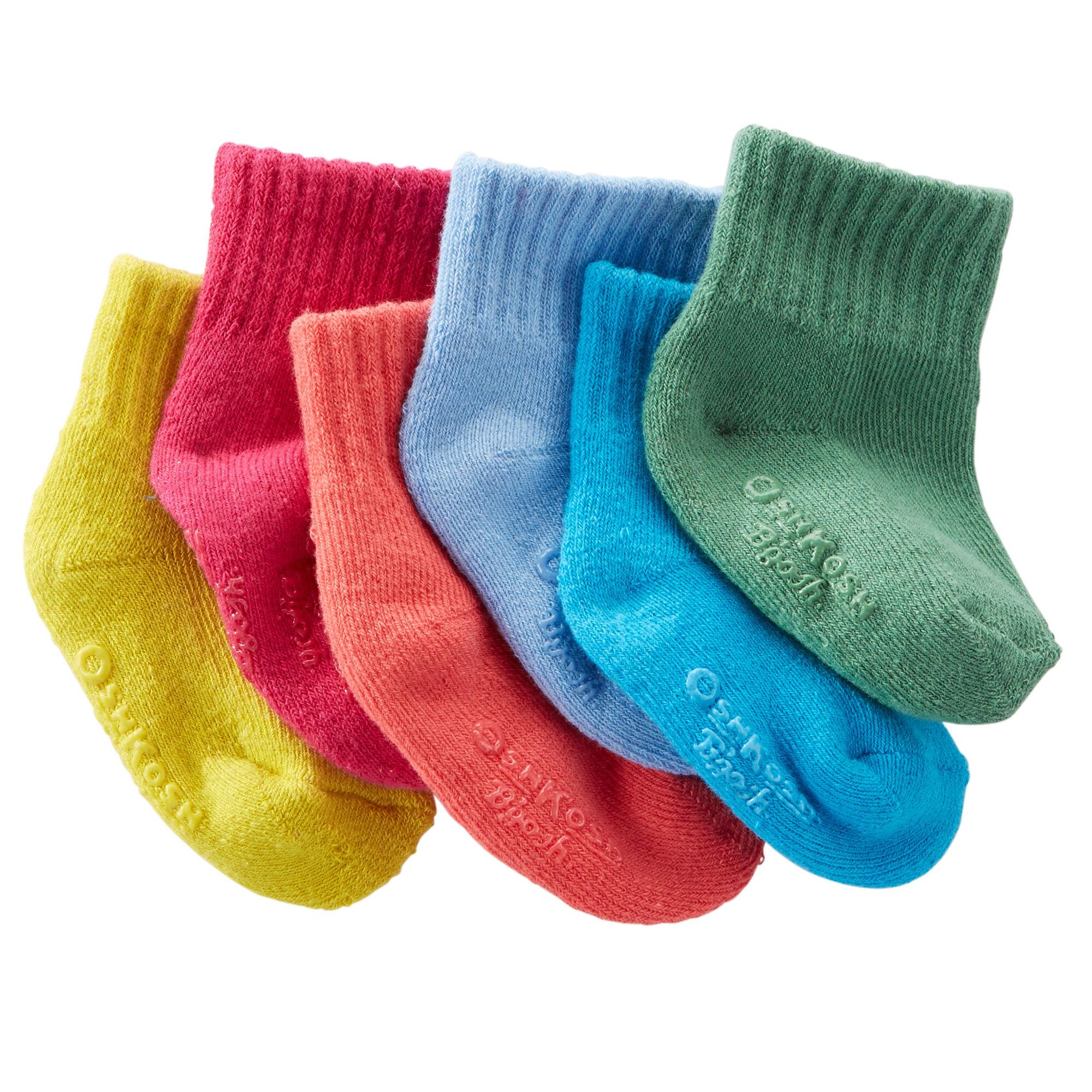 6-Pack Quarter Socks