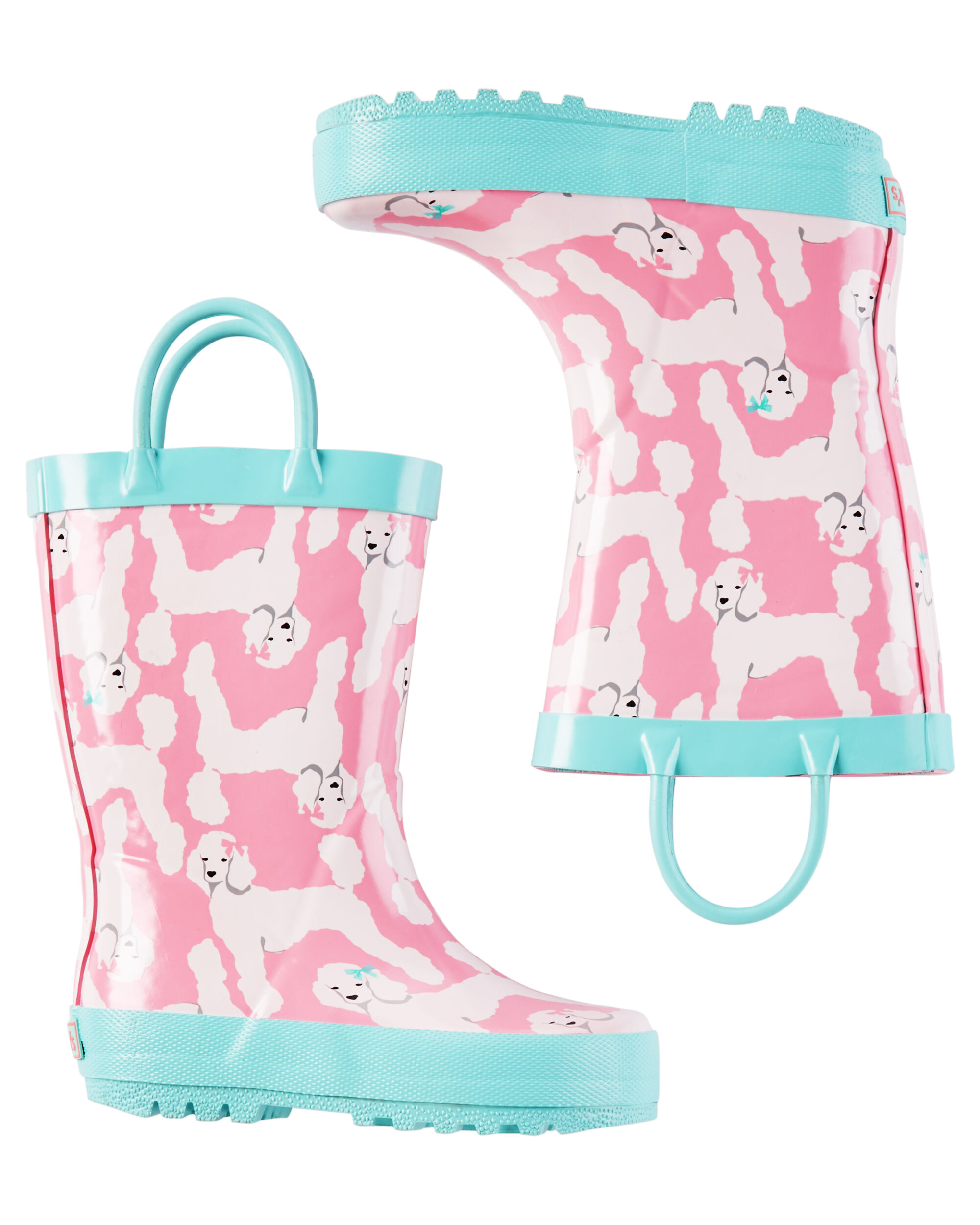 Kid Girl Carter s Poodle Rain Boots