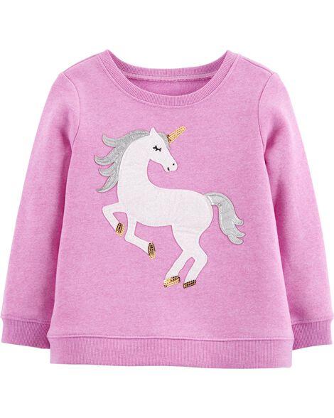 Glitter Unicorn Pullover