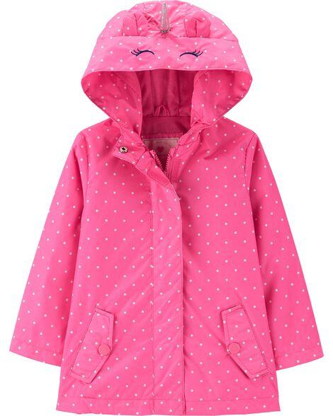 ef8aeb6cdd77 Baby Girl Unicorn Raincoat