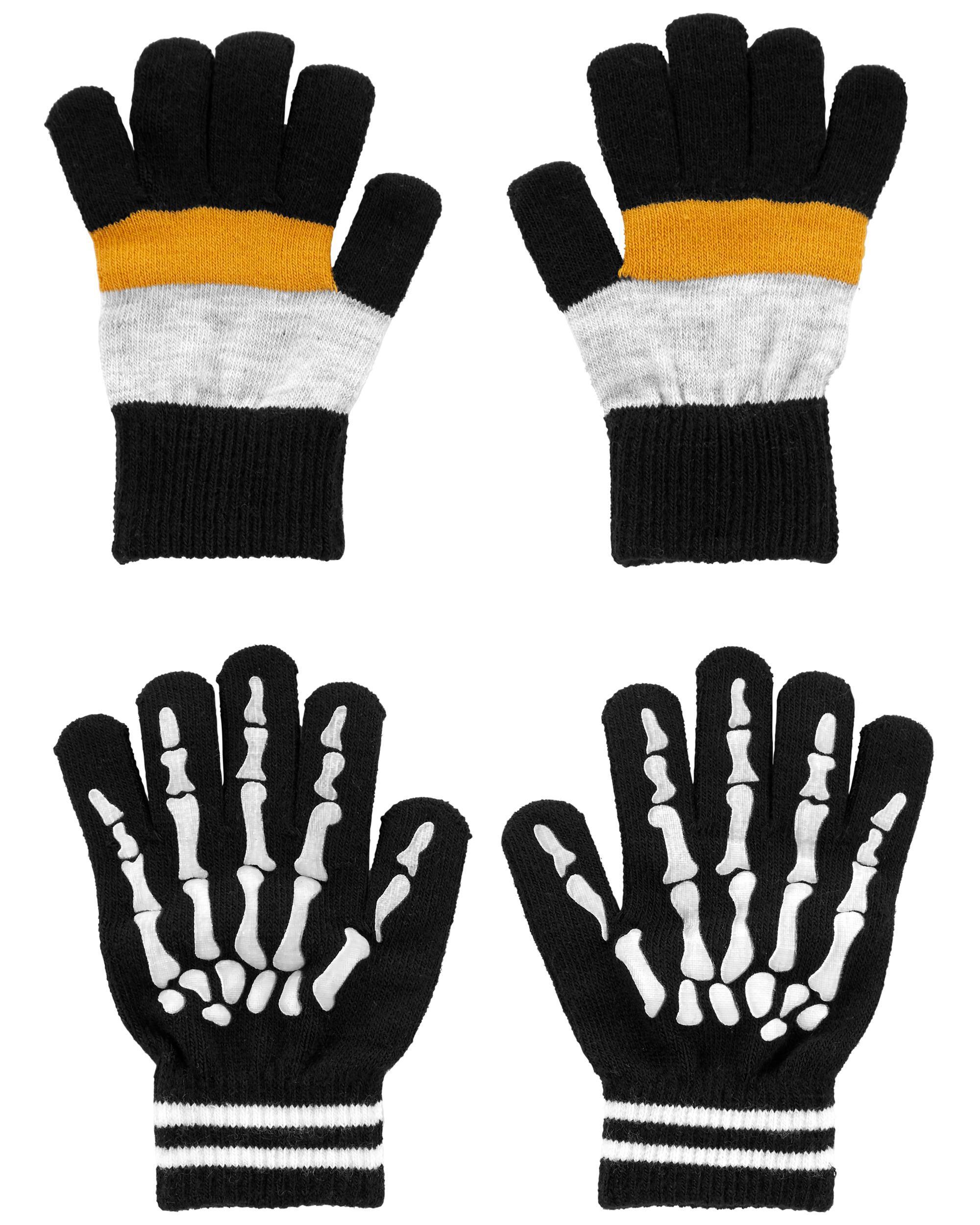 *DOORBUSTER*2-Pack Glow Gripper Gloves
