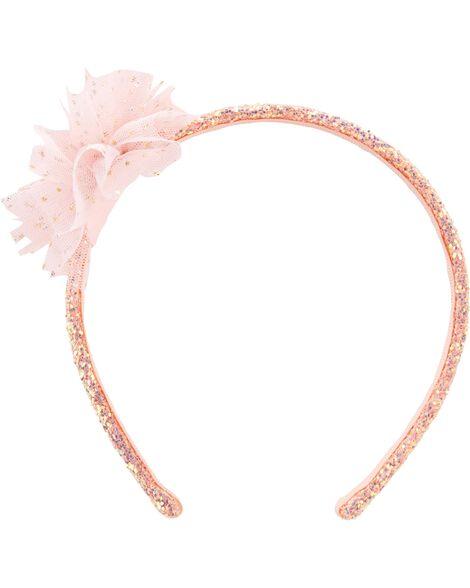 Glitter Plume Headband