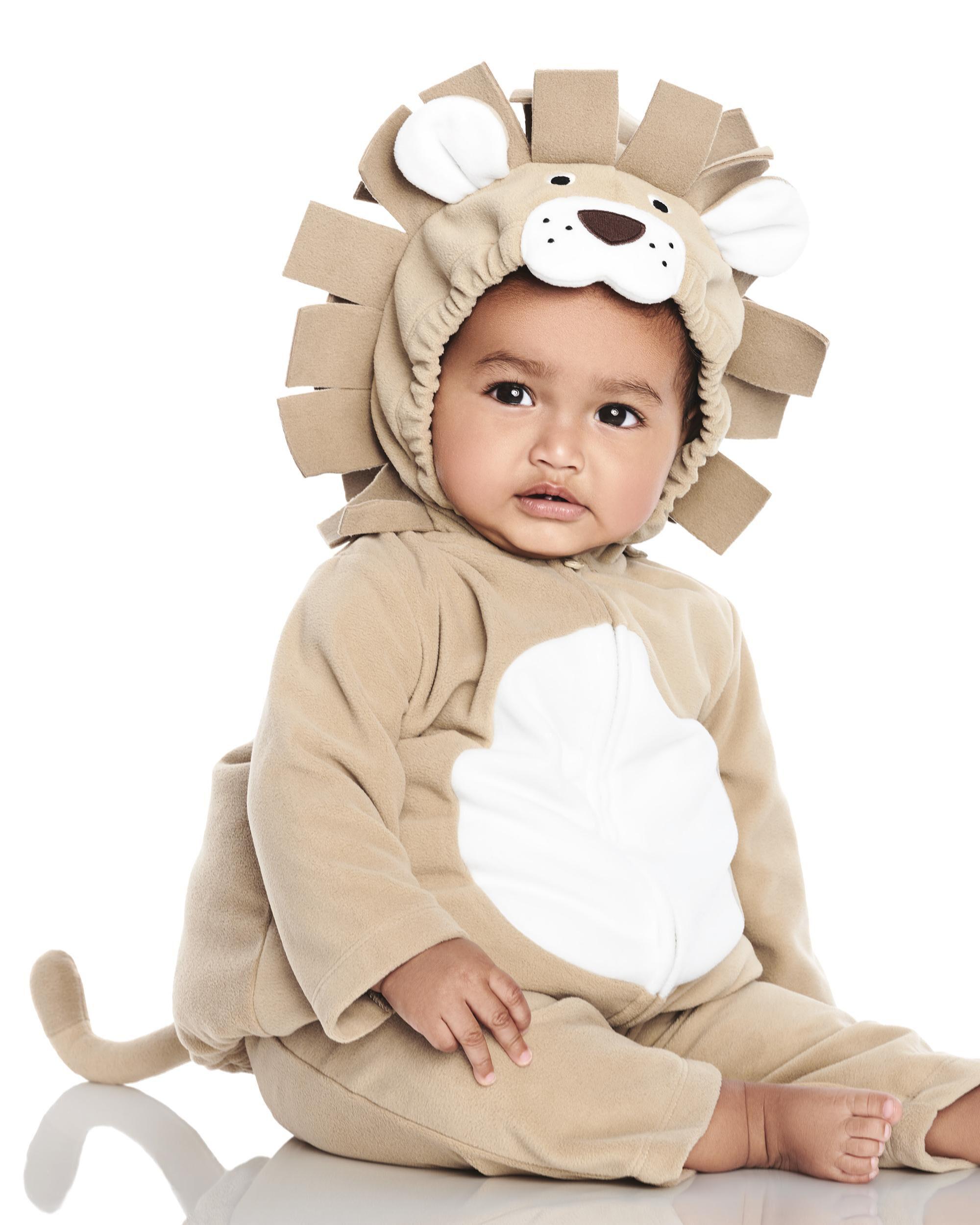baby boy little lion halloween costume | carters