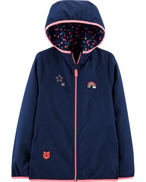Navy Reversible Jacket