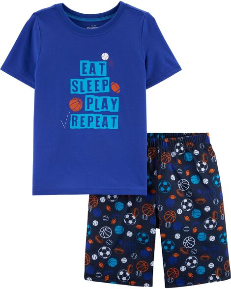 2-Piece Sports PJs