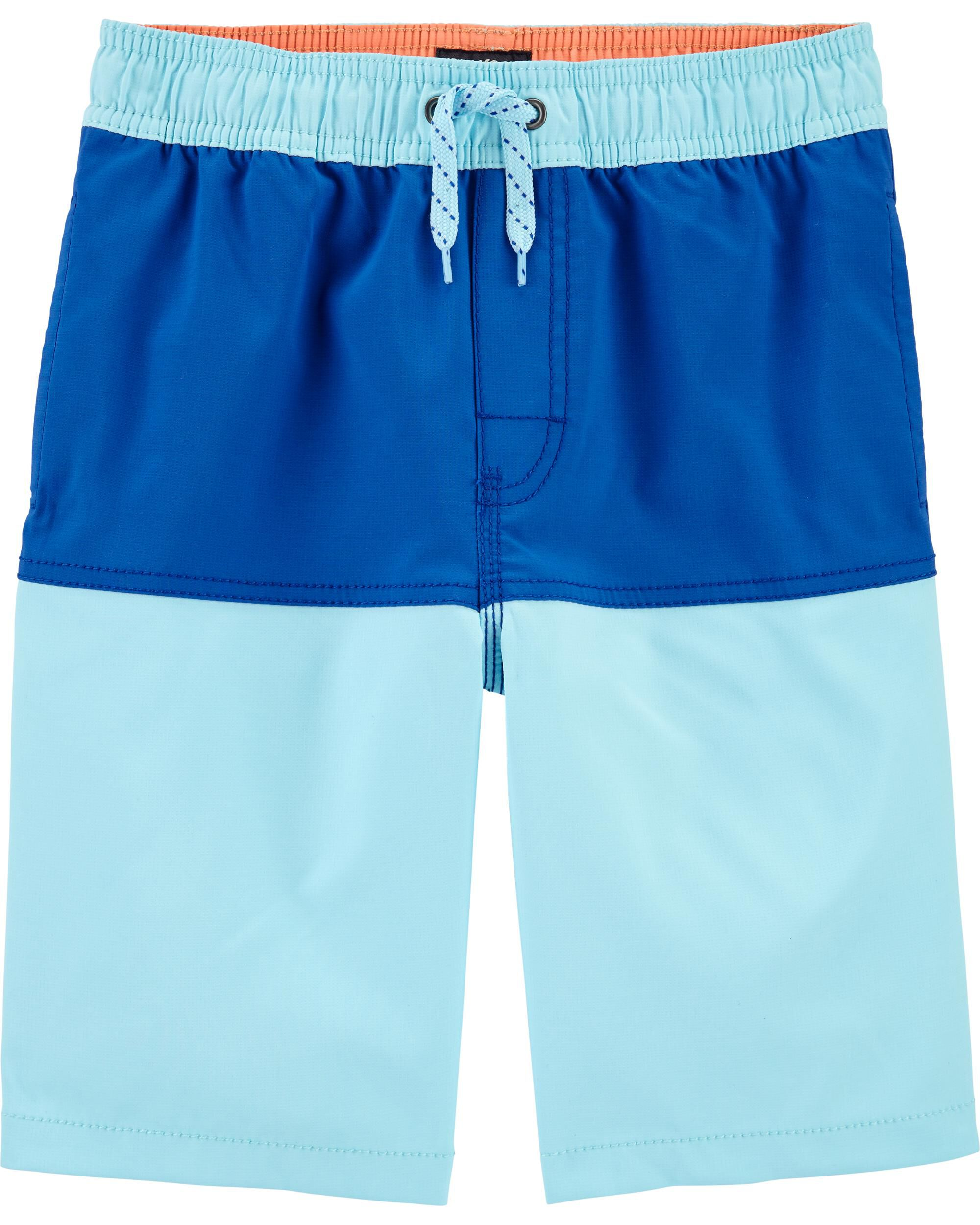 Colorblock Pool-to-Play Shorts