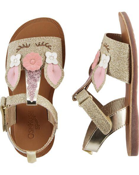 OshKosh Glitter Unicorn Sandals