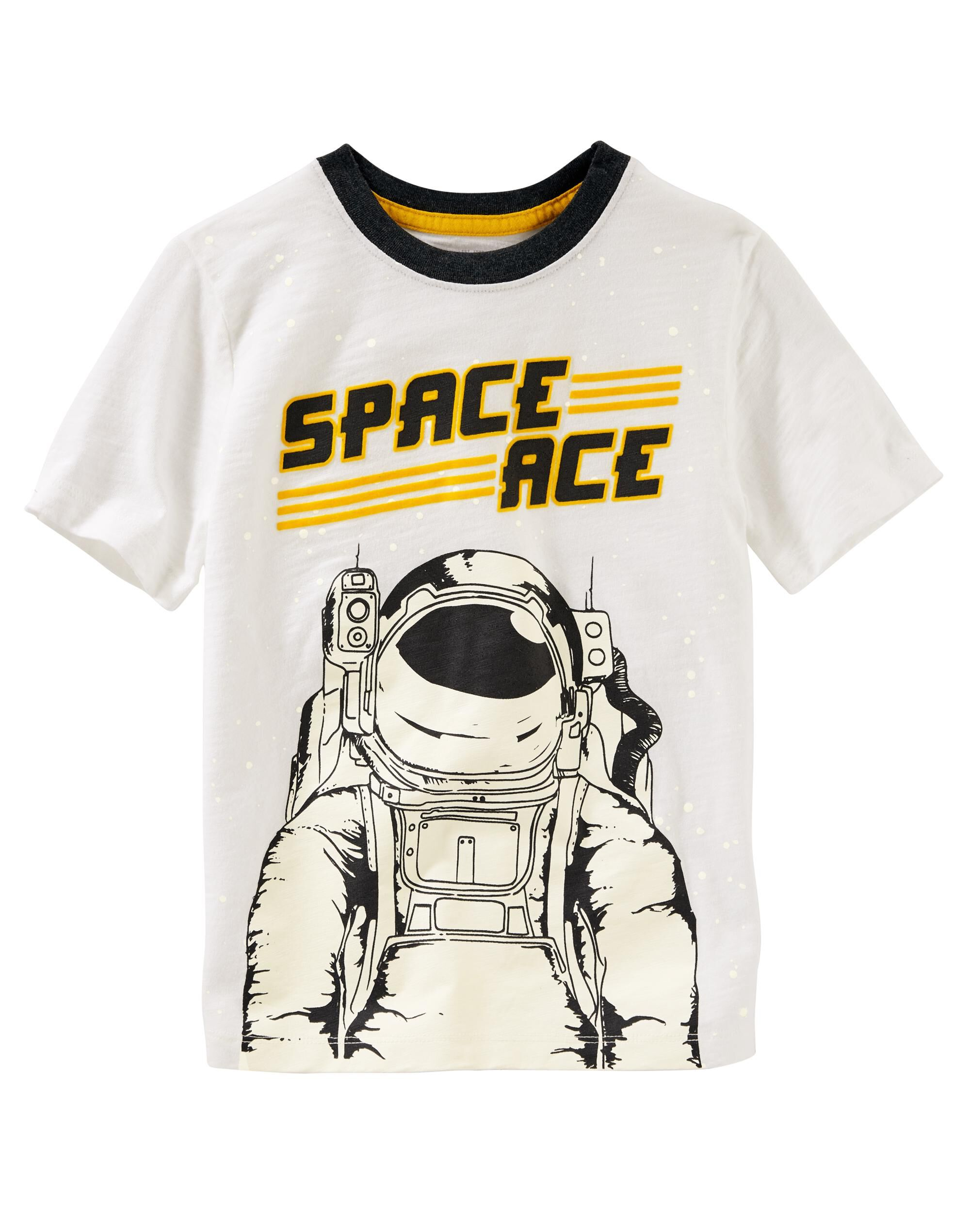 Glow-in-the-Dark Space Ace Tee
