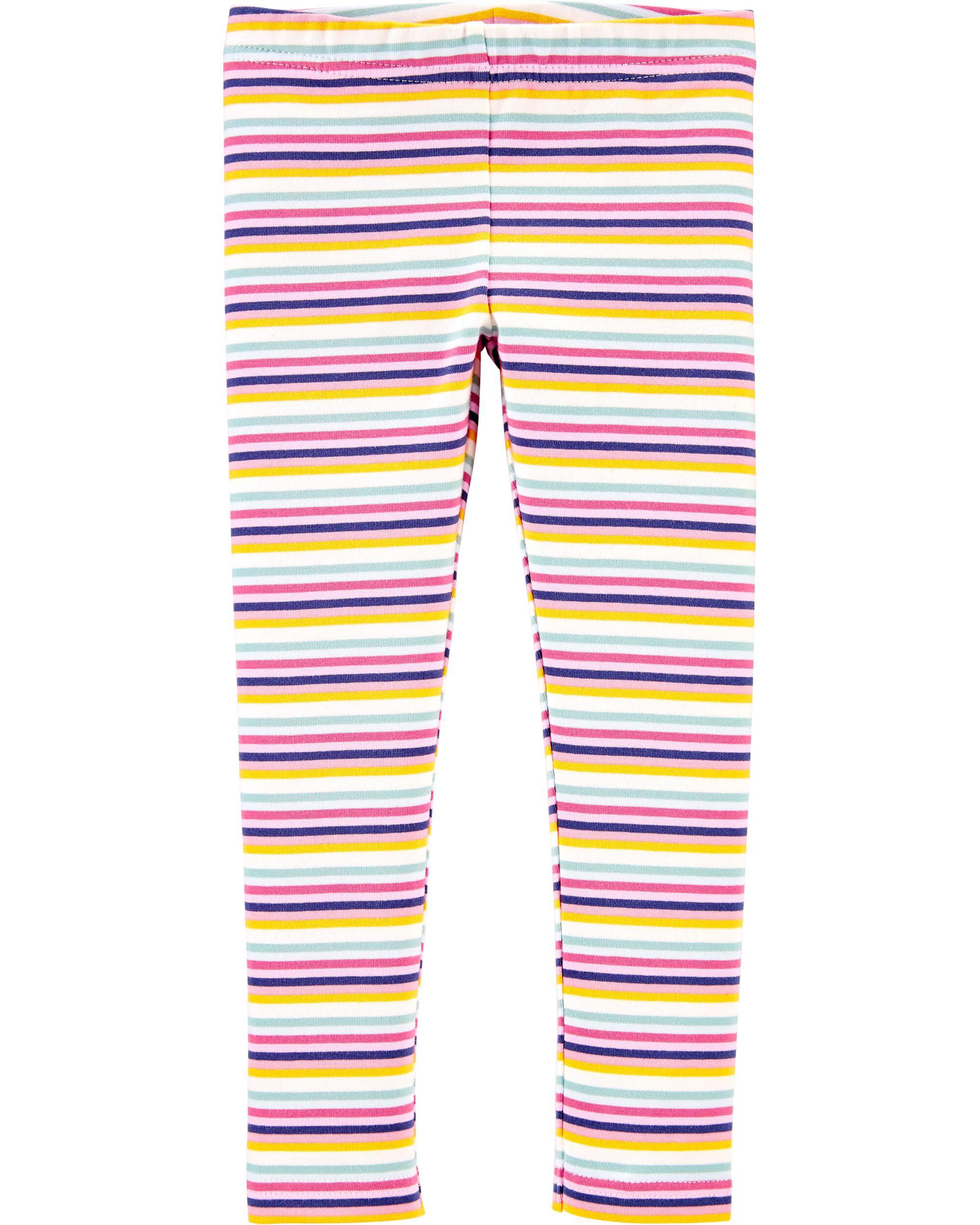 *CLEARANCE*Striped Jersey Leggings