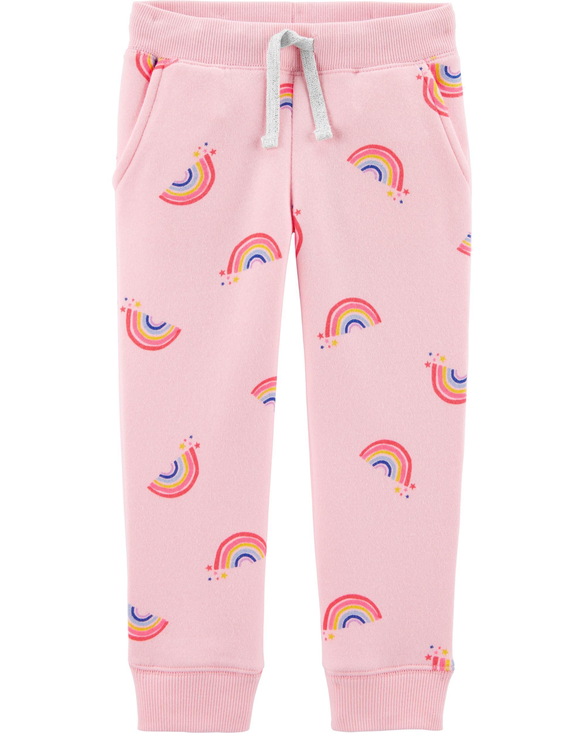 *CLEARANCE*Logo Fleece Rainbow Pants