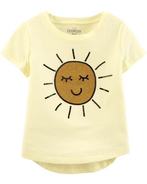 Sunshine Sequin Tee