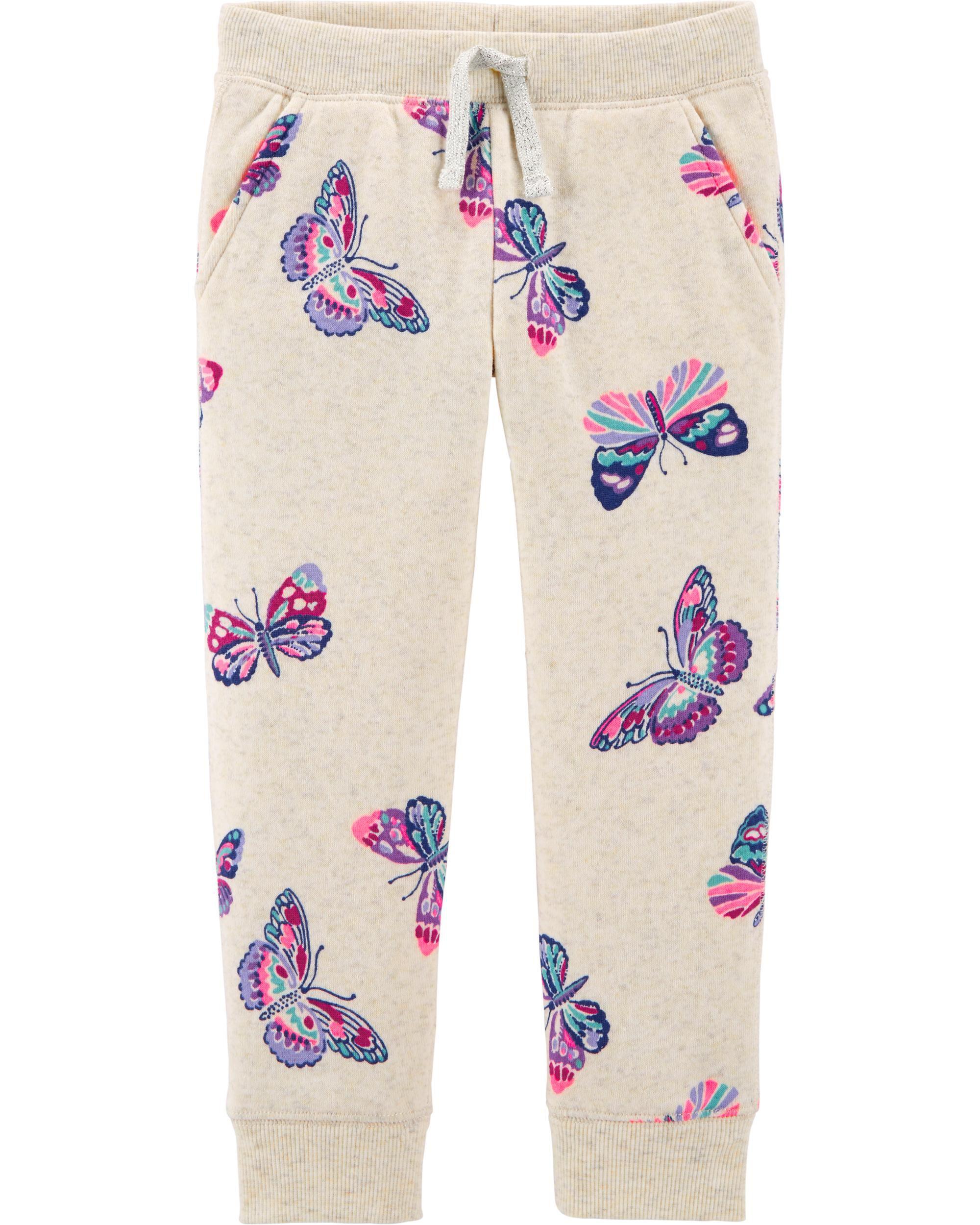 *CLEARANCE*Fleece Butterfly Pants