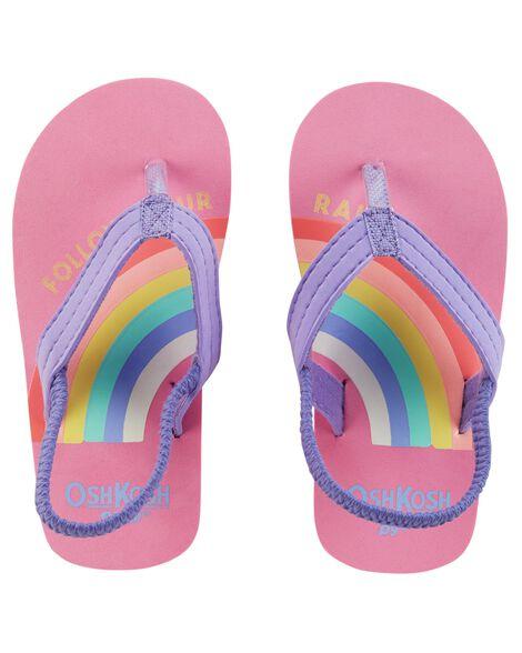 979e8e24edcc OshKosh Rainbow Flip Flops ...