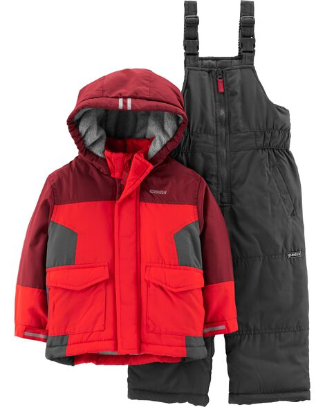 6c1c88f35 2-Piece Colorblock Snowsuit Set | OshKosh.com