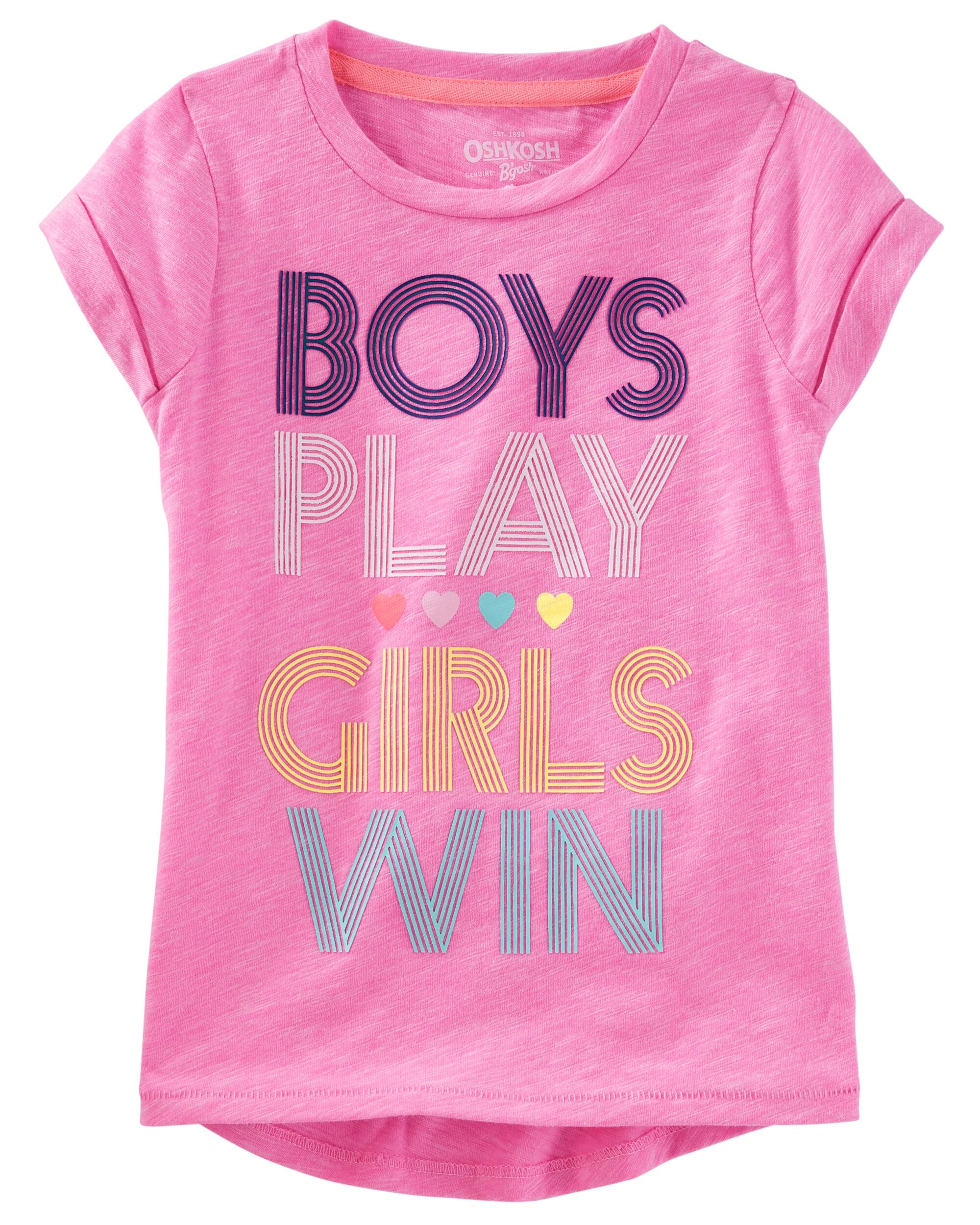 Girls Win Tee