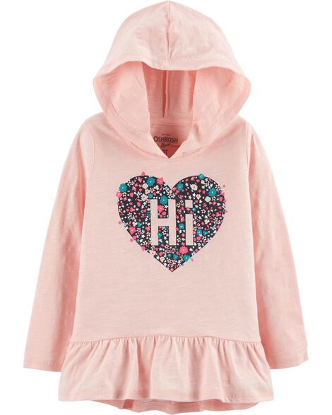 Heart Hooded Tunic