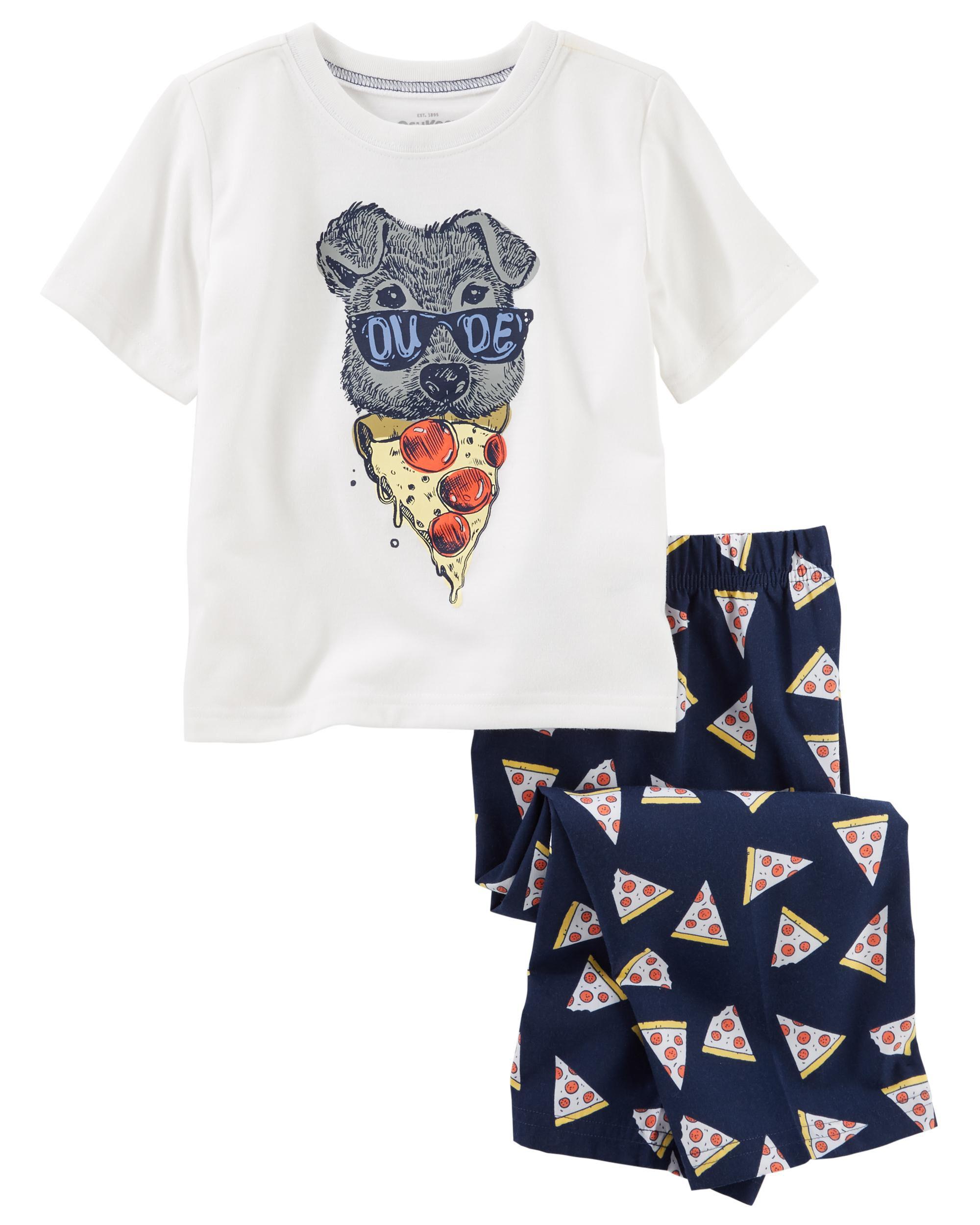 2 Piece Pizza PJs