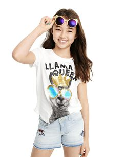 d1ae43cd Girls Shirts, Tops & T-shirts | Oshkosh | Free Shipping