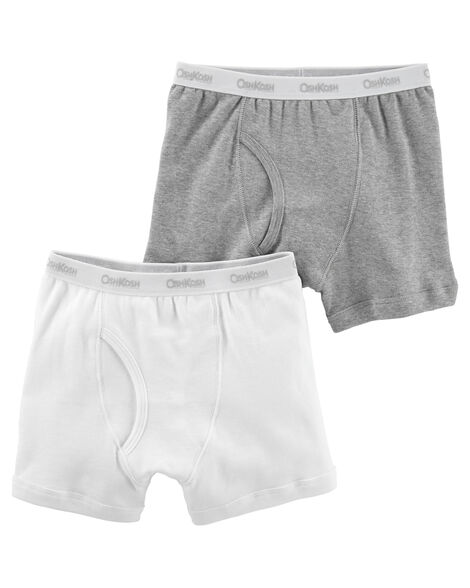 2 Pack Boxer Briefs by Oshkosh