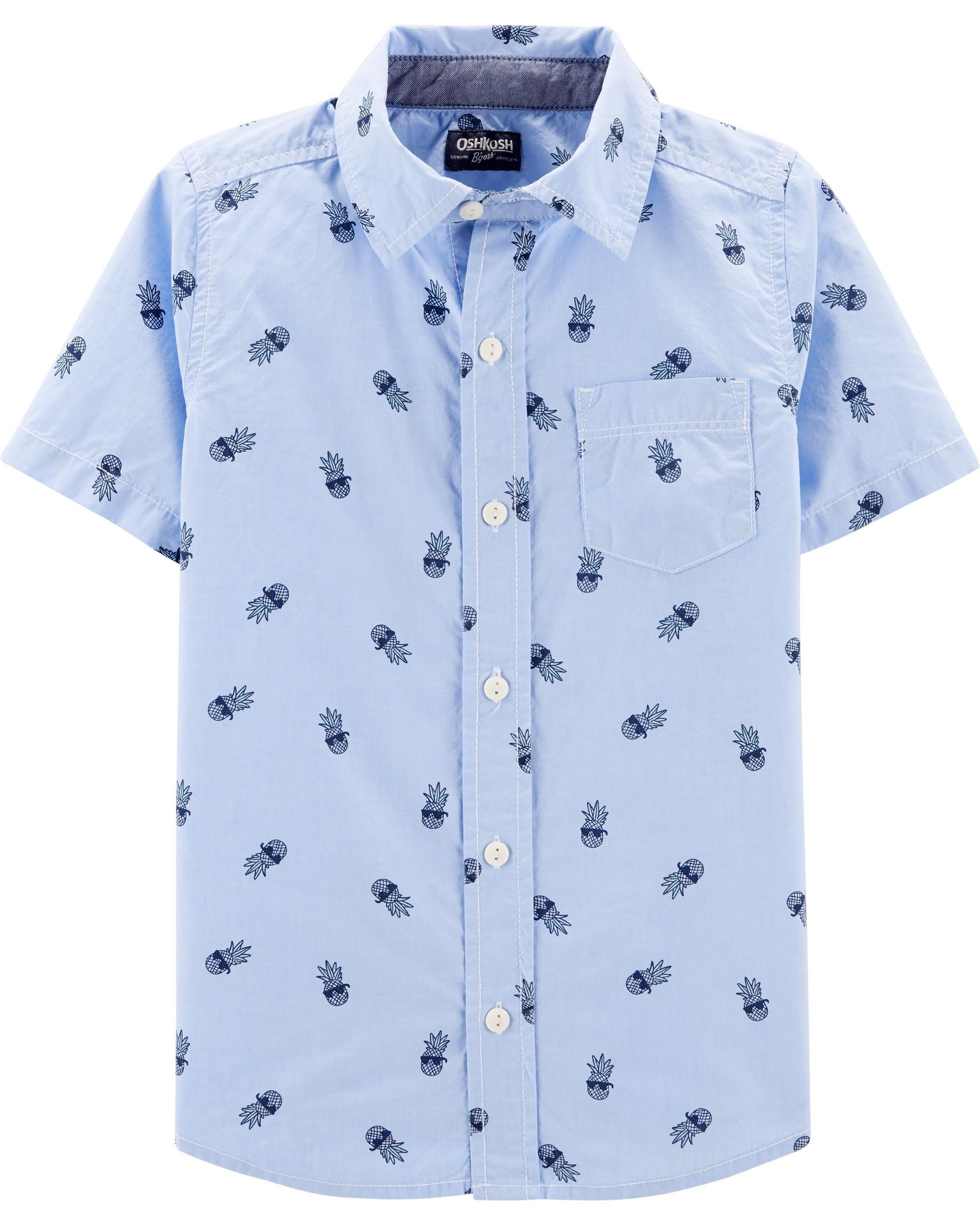 7c742c5978 Pineapple Button-Front Shirt