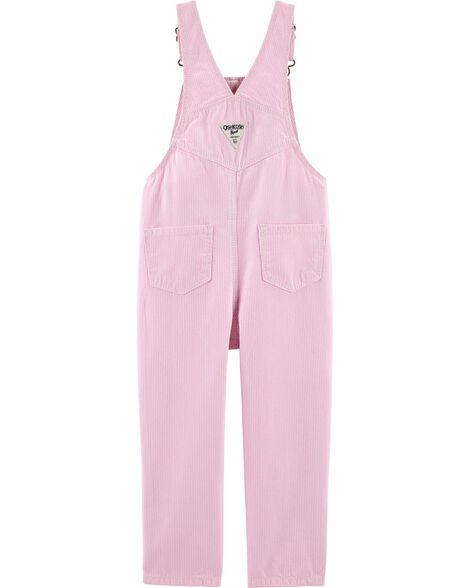 Hickory Striped Overalls
