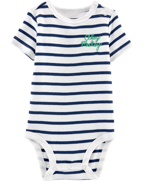 Ahoy Matey Striped Bodysuit